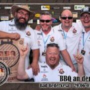 Gesamtsieg BBQ Wiesel bei BBQ an der Burg in Bad Berderkesa 2018
