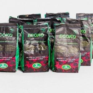 Ecoko holzfreie Grillbriketts aus Mangokernen und Pflanzenresten