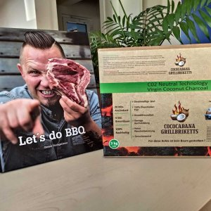 VatertasgAktion 2020 Grillbirketts + Grillbuch