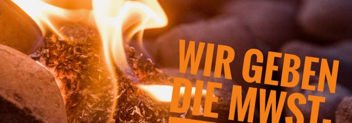 Feuerlord gibt die MwSt-Senkung 2020 an Dich weiter