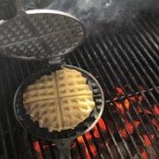ezept für Waffeln im Waffeleisen für den Grill