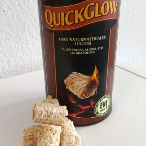 Quick Glow Anzünder Holz Bioöl