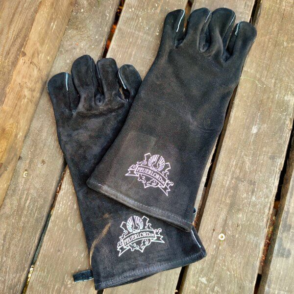 Grillhandschuhe Feuerlord Black