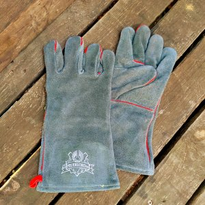 Grillhandschuhe Feuerlord Grey/Red