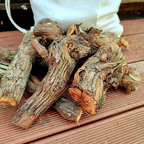Weinreben Anschnitt Baumwollrucksack