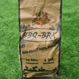 3 Kg Cocos Briketts Feuerlord.de BBQ-BRX für BBQ & mehr