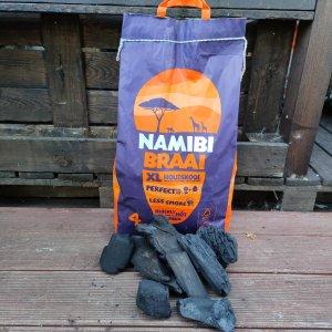 10 Kilo Namibi Braai Holzkohle Sack